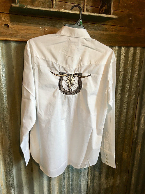 Pearl snap shirt long sleeve