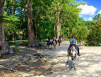 Ride along Medina River