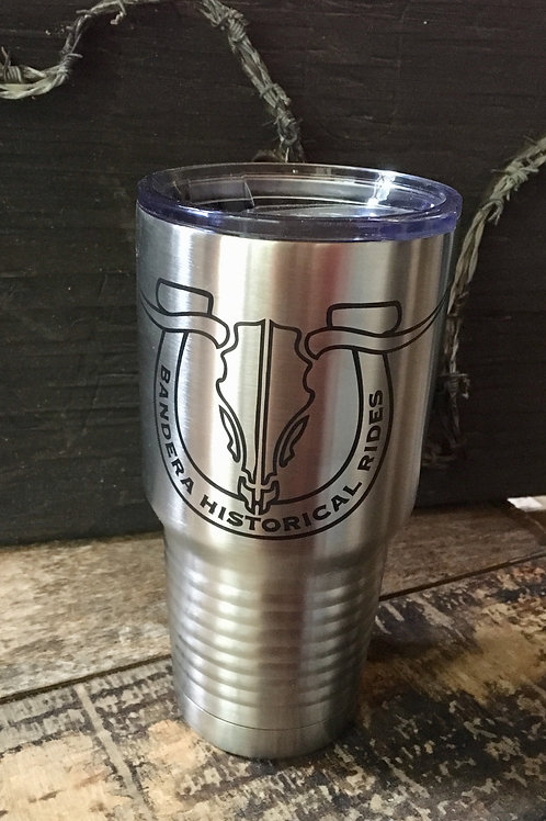 30oz Stainless Steel Travel Mug, customized