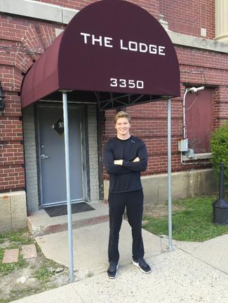 Josef Newgarden at The Lodge!