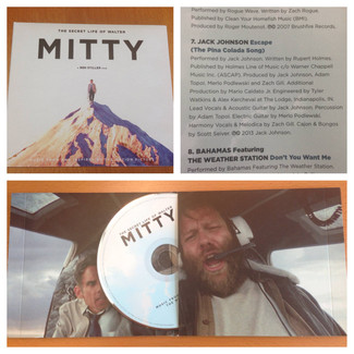 "Jack Johnson and ""The Secret Life of Walter Mitty"""
