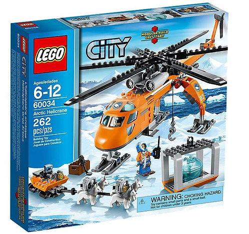 Lego City Грузовой арктический вертолет