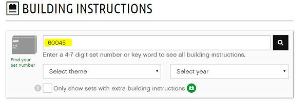 Инструкции по сборке LEGO