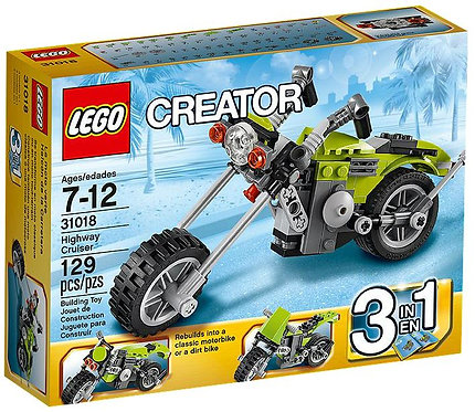 Lego Creator Шоссейный мотоцикл 3в1
