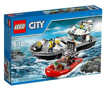 Lego City Полицейский патрульный катер