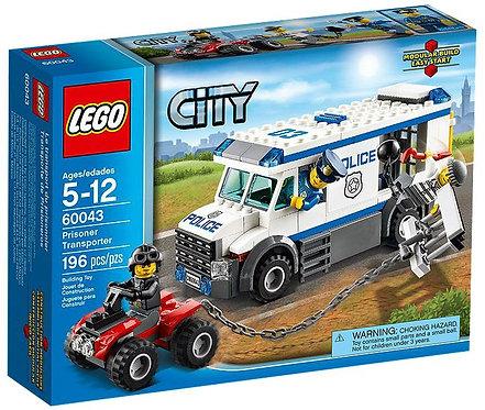 Lego City Автозак (Перевозчик заключенных)