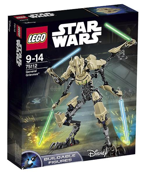 Star Wars Генерал Гривус (75112 General Grievous)