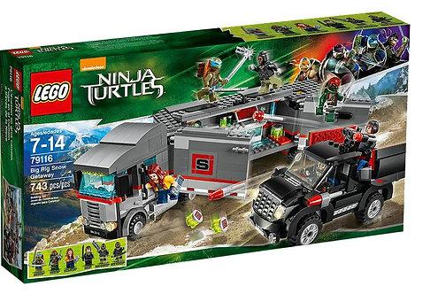 Ninja Turtles Большая снежная машина для побега