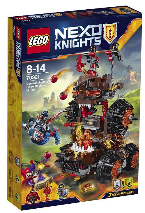 Nexo Knights Роковое наступление Генерала Магмара (70321)
