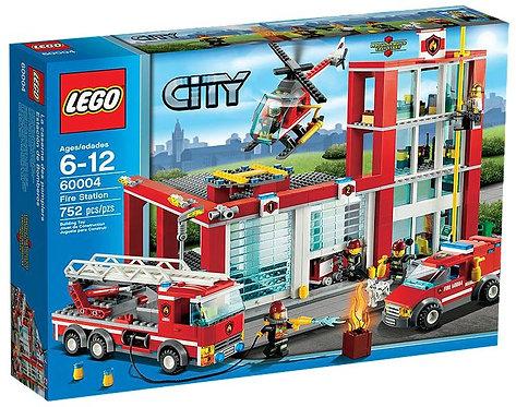 Lego City Пожарная станция