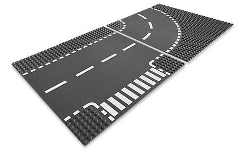 City Дорожные пластины (Т-образная и закругление)