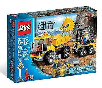Lego City Город Погрузчик и самосвал