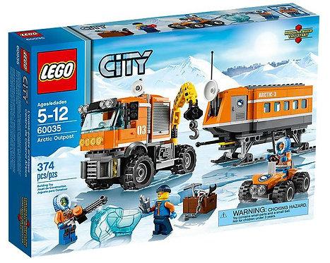 Lego City Передвижная арктическая станция