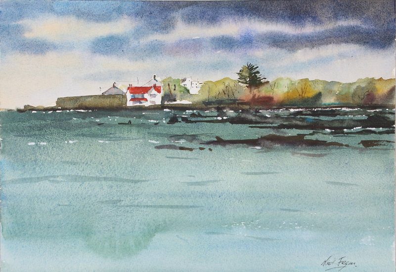 'Storm Ophelia Scotsmans Bay, Sandycove'