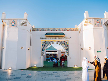 Moroccan pavilion at Sheikh Zayed Festival features popular dishes, traditional handmade products