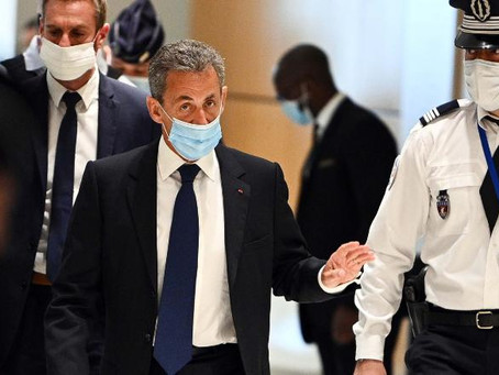 Former French President Sarkozy Convicted and Sentenced to Jail
