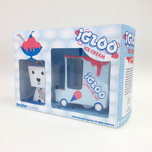 Igloo Ice Cream  - Toy Set