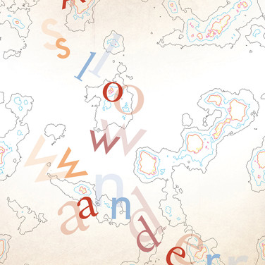 A Slow Wander - Poetry Design