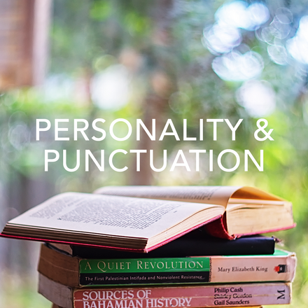An examination into how punctuation can shape our writing and create new meaning