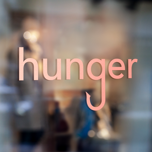 Hunger - Fashion Branding