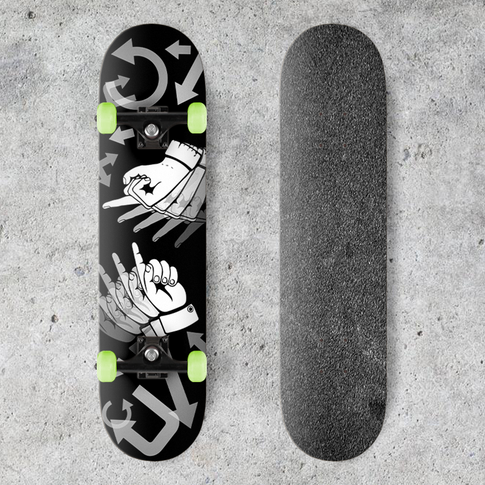 The Light-Years Skateboard Decks