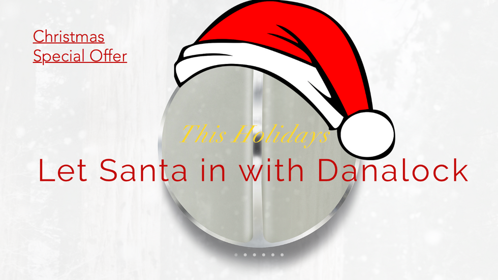This Holidays let Santa in with a Danalock