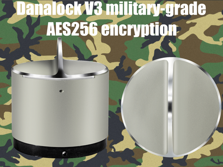 Danalock V3 adds military-grade AES256 encryption