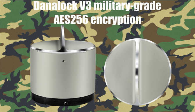 Danalock V3 adds military-grade AES256 encryption