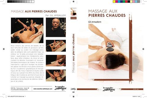 Dvd : Massage à l'huile et aux pierres Chaudes