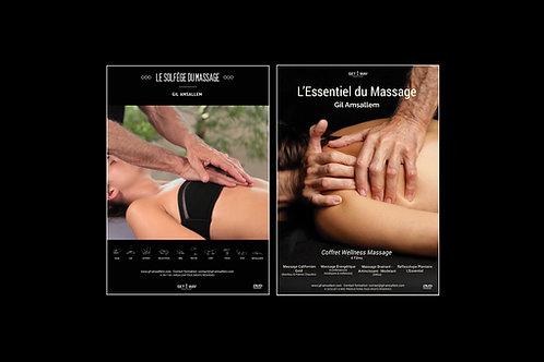 2 DVD : Le Solfège du Massage + L'Essentiel du Massage