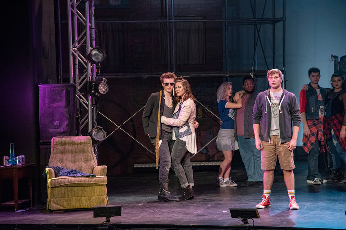 """American Idiot"" at Ball State University, 2018"