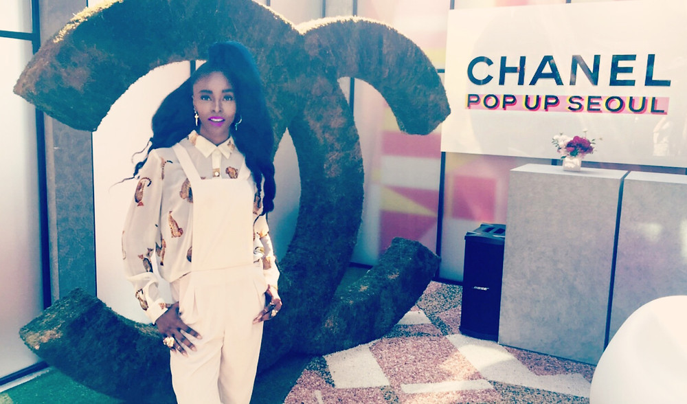 Kpop Style Star TELISU At Chanel Seoul Popup