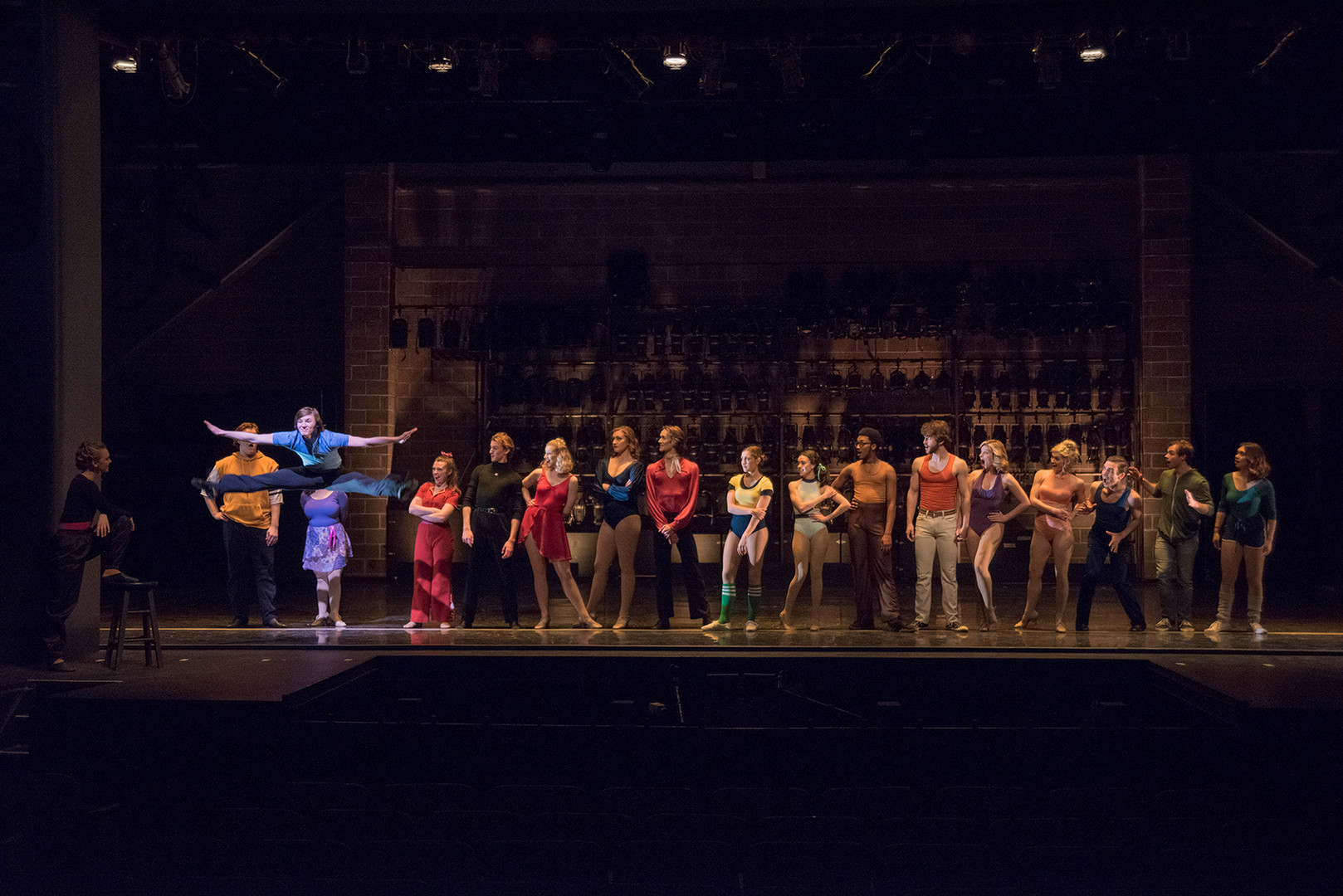 """A Chorus Line"" at Ball State University, 2018"