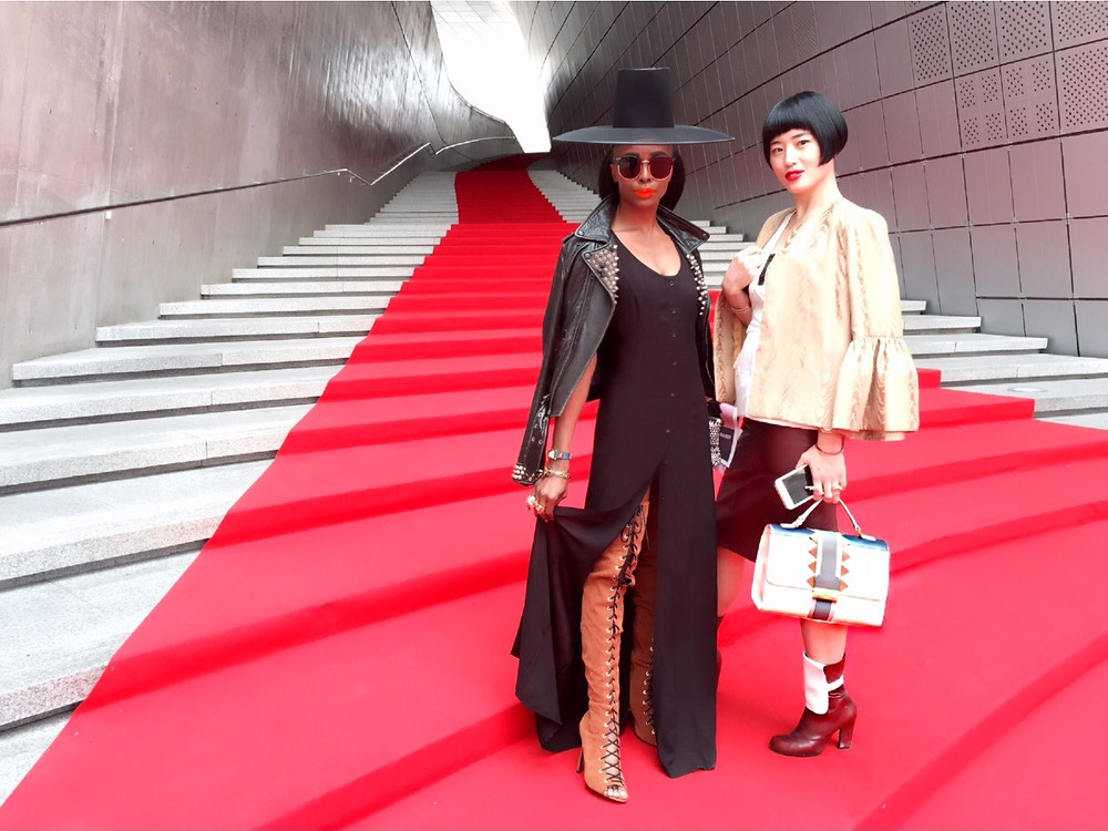 How Kpop Style Star TELISU Styled A Traditional Korean Gat 갓 At Seoul Fashion Week
