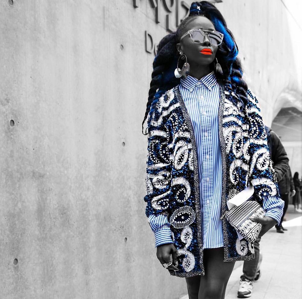OOTD - What Kpop Style Star TELISU At PUSHBUTTON During Seoul Fashion Week