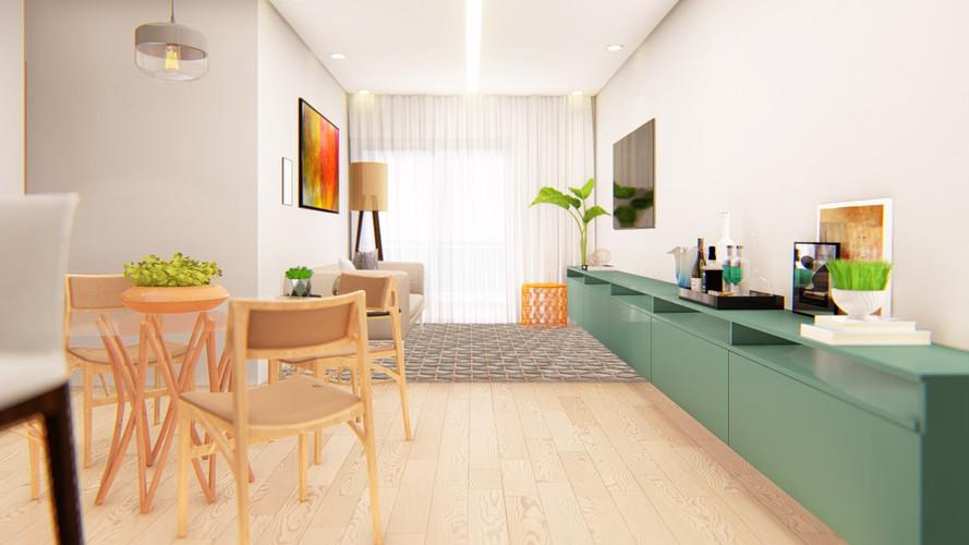 Cozinha Integrada Projeto de Arquitetura