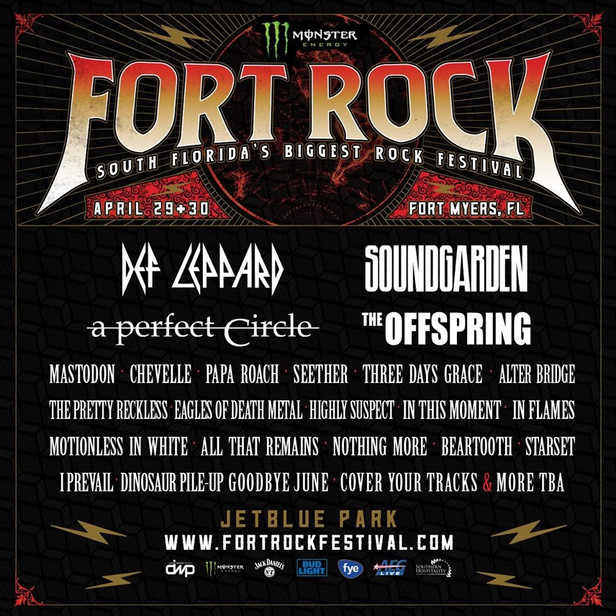 Fort Rock 2017 Lineup Announcement!