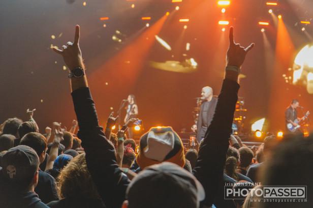 Disturbed at Bridgestone Arena in Nashville