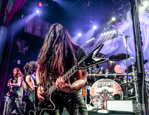 Anthrax and Testament at House of Blues New Orleans