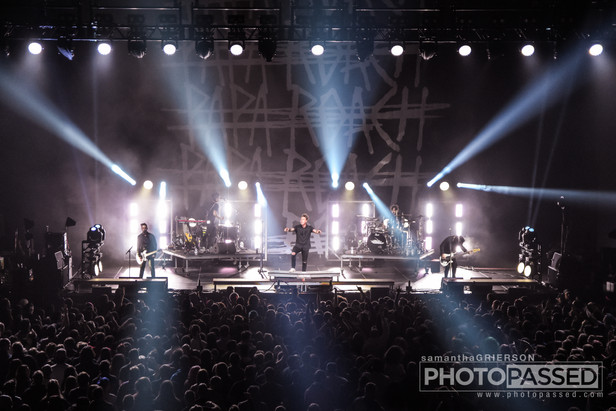 Papa Roach on the 15 Years in the Making Tour in Baltimore