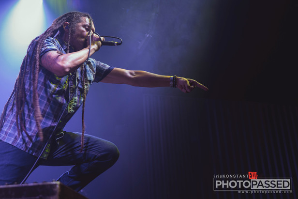 Nonpoint brings Chaos and Earthquakes to The Cowan