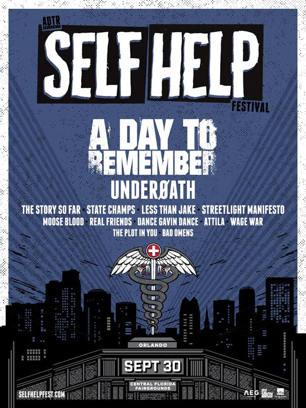 Festival News: Bands Added to Self Help Fest Orlando