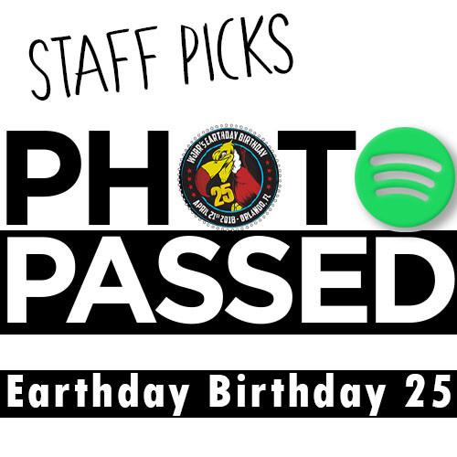 Playlist: Staff Picks - Earthday Birthday 25