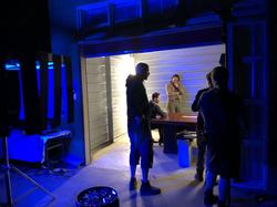 Behind the scenes redeye office