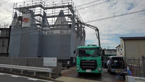 ☆☆現場便り☆☆グランテラス伏屋新築工事は2階コンクリート工事をおこないました。