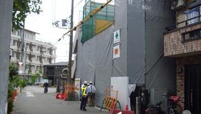 ☆☆現場便り☆☆東淀川作業所は、暑い中ですが、6月10日に第4回の定例打合せを行いました。施主・設計事務所(リモート参加)でしたが参加、ありがとうございました。現場は3階の建込中です。