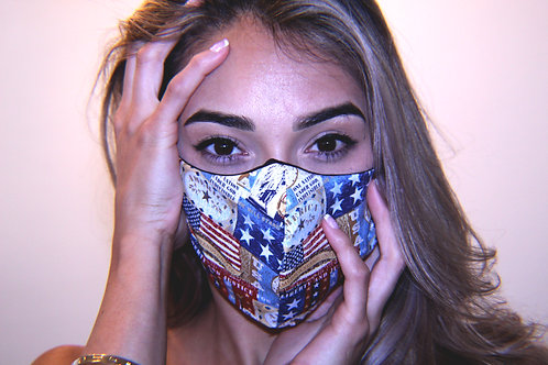 """America the Beautiful"" mask"
