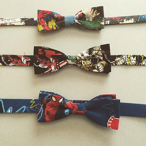 custom adult various comic strip bow Ties