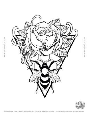 Bee-DrawingsSheet-TattooBrawl.jpg