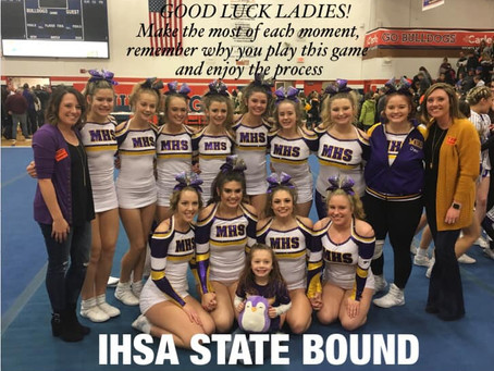 MHS Cheer Team Competes at State